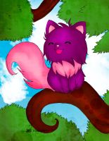 Cheshire Cat by Hoshi-Wolfgang-Hime