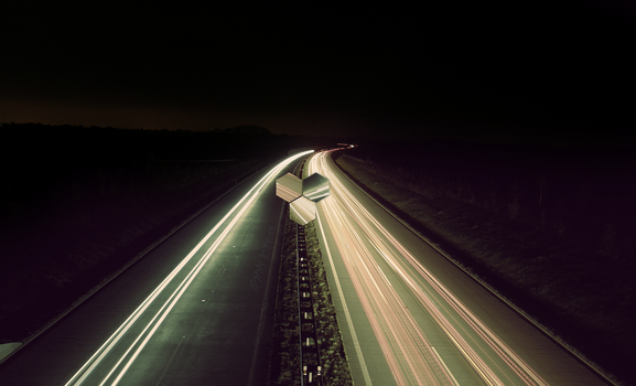 Highway - Lights to the end by izyman