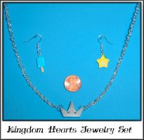 Kingdom Hearts Jewelry Set by YellerCrakka
