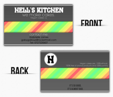 Hell's Kitchen Business Card by mariotullece