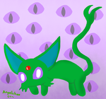 Lineless shiny espeon (old) by Angelchao64