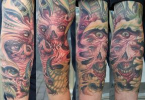 freestyle monster forearm IN PROGRESS by graynd