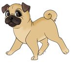 PUG by BUBBLE89