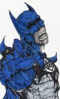 black lantern batman by ChrisOzFulton