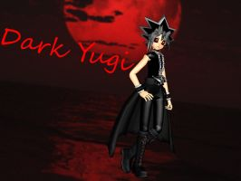 Dark Yugi by FoxDia23