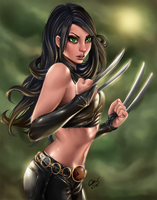 X-23: Razor's Edge by BornTewSlow