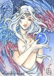 ACEO - Celestial Angel by MeredithDillman