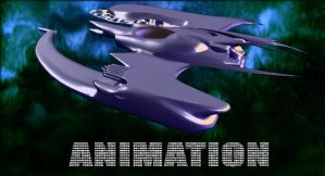 SpaceShip06_preview_animated by Spiritofdarkness