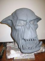latex ork mask 2011c by damocles-shop