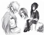 Uruha (sketch dump) by KaZe-pOn