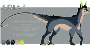 Adias 2016 Reference: Feral form by C0ZR10N