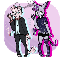 |Adoptables|First Batch ( 2/2 OPEN ) by Smol-Maple-son