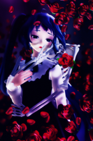 [MMD] Lovers Embrace by Hex1H4llow