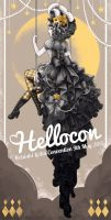 Hellocon 2015 Flyer by nokecha