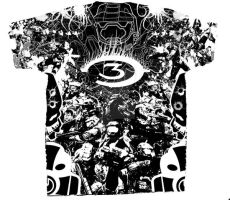 Halo 3 T-Shirt Design by Freezasinferno
