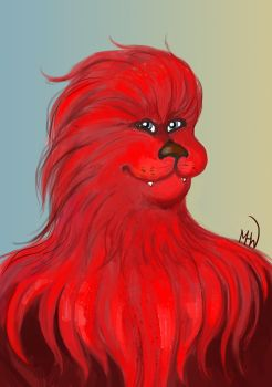 Red Chewie by MadHatters-Wife