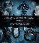 Polymer clay jewelry - Christmas offer by Eartha-Creations