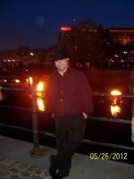 Justin at Waterfire by Huntermoon