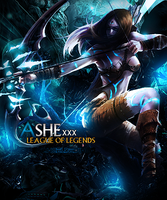 ashe league of legends original size by ByAngelDesings
