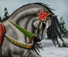 Xmas halter entry by MagicWindsStables