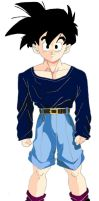 Gohan Casual Clothes by xthayetx