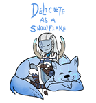 Smite - Delicate as a snowflake (Chibi) by Zennore
