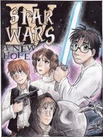 Harry Potter Star Wars Cover by Blairaptor
