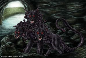 Cerberus by TheDragonofDoom