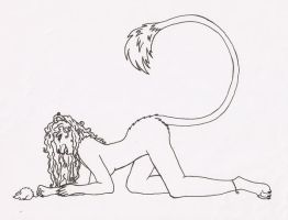 Playing Cat and Mouse - Inked by lioness-zephira