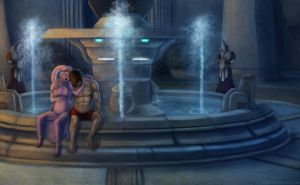 SWtoR - Commission - Sanctuary by JoJollyArt