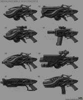 More Guns_rifles by NuMioH