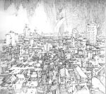 Pen - A city by artbytheo