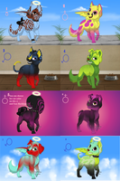 8 Scene Puppy Adopts :OPEN: by Xx-Cookie-Lover-xX