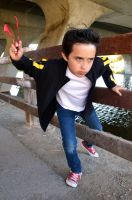 Damian Wayne: Streets of Gotham by FloresFabrications
