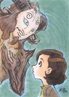 Pan's Labyrinth Art Card by kevinbolk