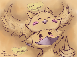 Thank you Doodle by Blurrygrey