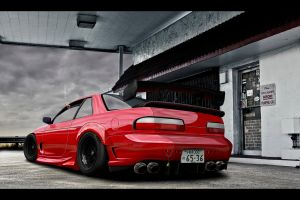 Nissan Silvia S13 by Intro92