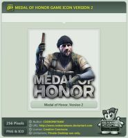 Medal of Honor Icon v2 by CODEONETEAM