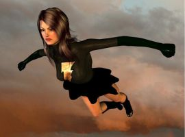 Black Mary Soars by cattle6