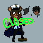 Mascot Head Adopt Captain  CLOSED by nautical-anchors