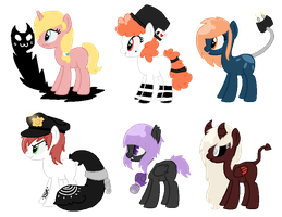 Song Inspired Pony Adopts CLOSED (Cheap) 6 by acervine