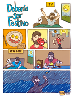 DSF 58 ENG: TV / Real life by juandapo