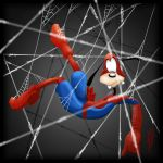 Spider Goofy (Disney Intrusions) by ScudSoul