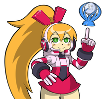 Mighty No. 9 Platinum Trophy Get! by JusteDesserts