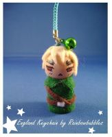 APH England Keychain by Rainbowbubbles