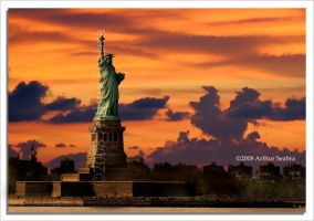 Statue of Liberty by aseabra