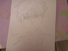 Kyoya Ootori by VenDuckie