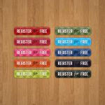 Patterned buttons pack by synysternl