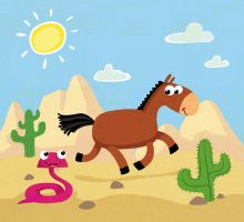 horse by hanno