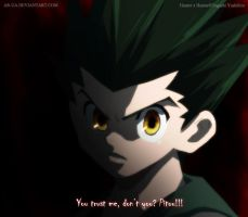 Hunter x Hunter: Gon by AR-UA